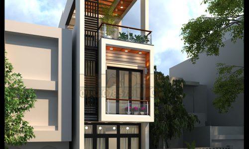 Mẫu nhà phố kinh doanh 4x21m tại TP. Cao Lãnh-Đồng Tháp-VNP290417