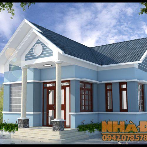 Nhà cấp 4 mái thái nông thôn 3 phòng ngủ diện tích 85m2 tại Hải Dương-VNC180517
